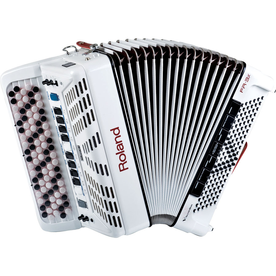 View larger image of Roland FR-3xb V-Accordion - White