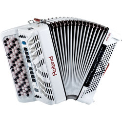Roland FR-3xb V-Accordion - White
