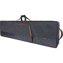 Roland Gold Series 76-Note Slim Keyboard Bag with Impact Panels and Integrated Wheels