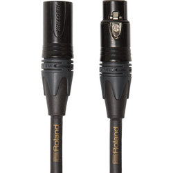 Roland Gold Series Quad Microphone Cable - Neutrik XLRM to Neutrik XLRF, 10'