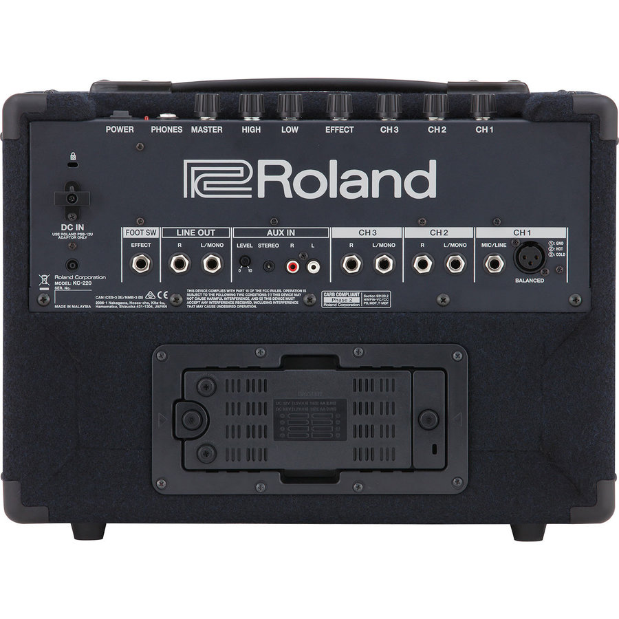 View larger image of Roland KC-220 Keyboard Amplifier