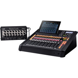 Roland M200i-EXP V-Mixer with S-1608 Digital Snake