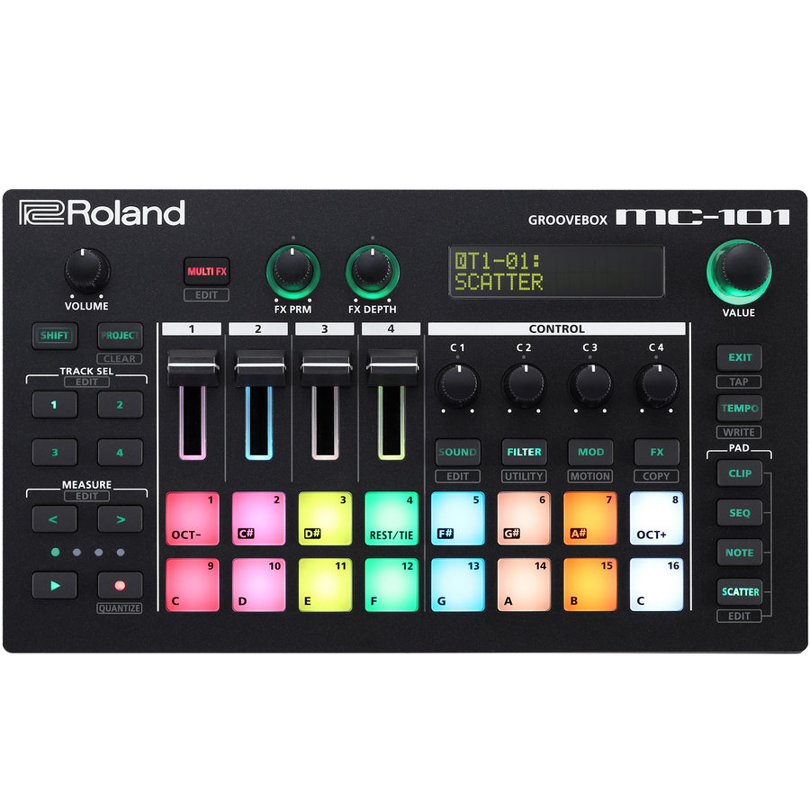 View larger image of Roland MC-101 Groovebox