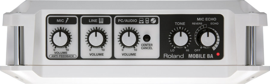 View larger image of Roland MOBILE BA Battery-Powered Stereo Amplifier