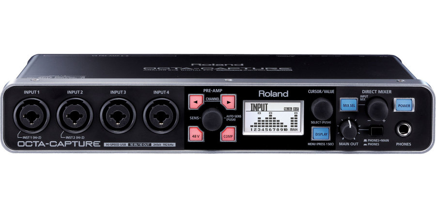 View larger image of Roland Octa-Capture USB Audio Interface