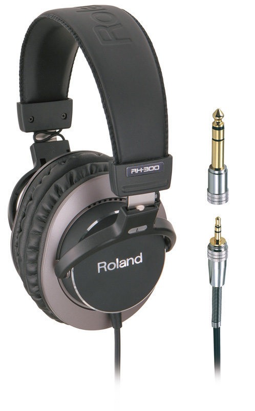 View larger image of Roland RH-300 Stereo Headphones