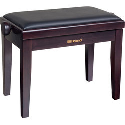 Roland RPB-200RW Piano Bench with Adjustable Cushioned Seat, Rosewood