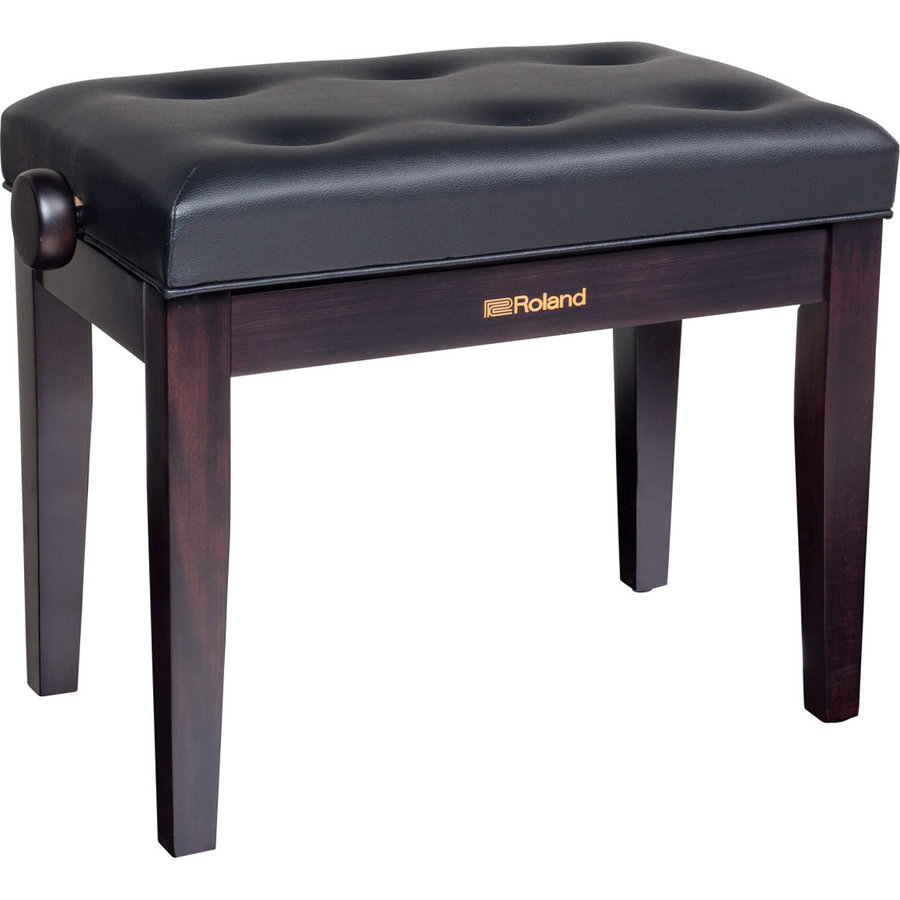 View larger image of Roland RPB-300RW Piano Bench with Adjustable Cushioned Seat, Rosewood