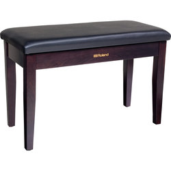 Roland RPB-D100RW Duet Piano Bench with Storage Compartment, Rosewood