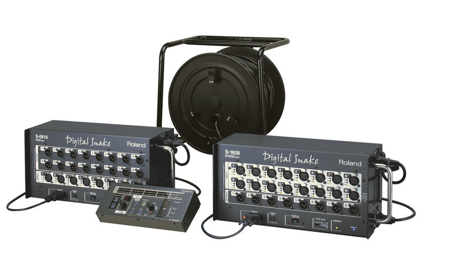 View larger image of Roland S-1608: 16 x 8 Stage Unit