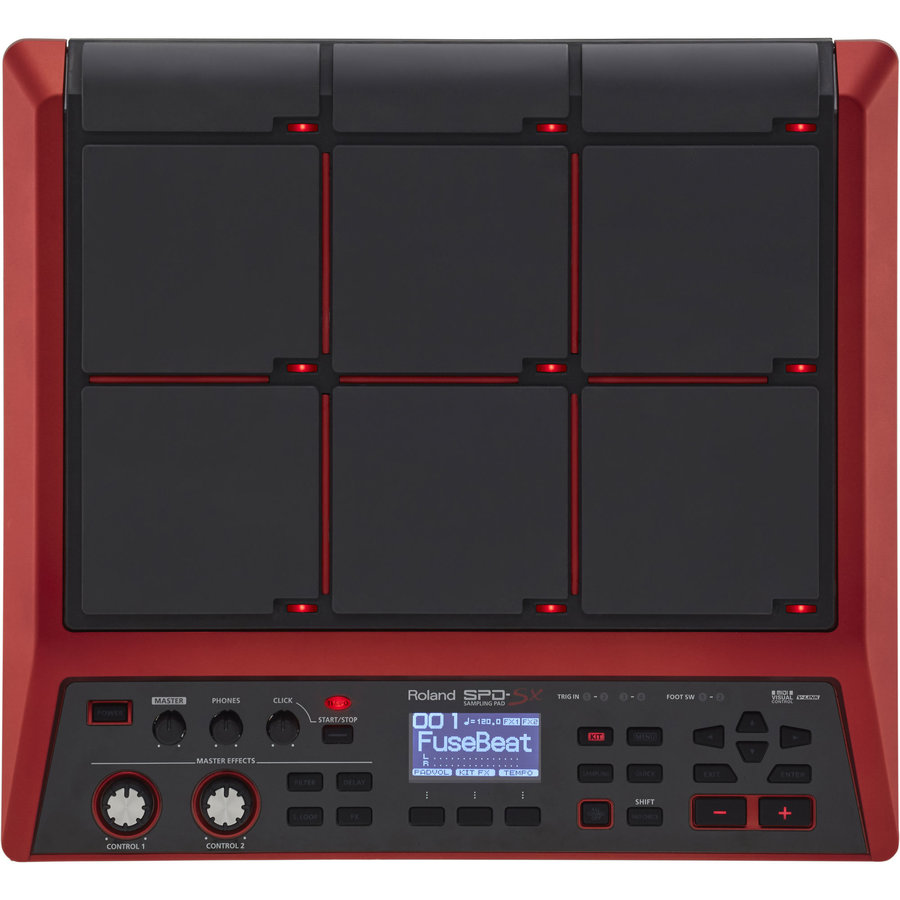 View larger image of Roland SPD-SX Special Edition Sampling Pad