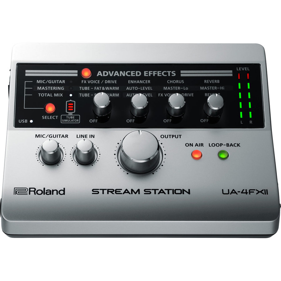 View larger image of Roland UA-4FX2 Stream Station USB Audio Interface