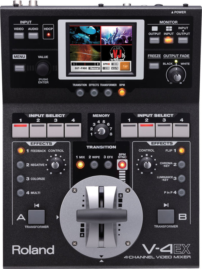 View larger image of Roland V-4EX 4-Channel Digital Video Mixer with Effects
