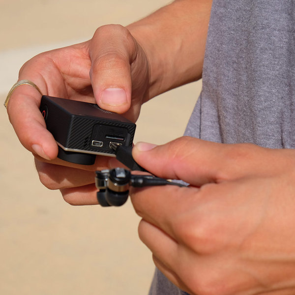 View larger image of Roland WEARPRO Mic 3D Stereo Microphones for GoPro