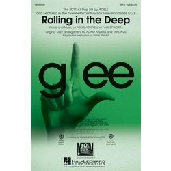 Rolling in the Deep (Adele/Glee), SAB Parts