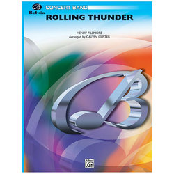 Rolling Thunder (Concert March) - Score & Parts, Grade 2