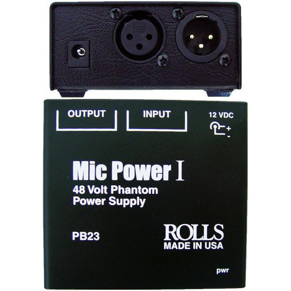 View larger image of Rolls PB23 Phantom Power Adapter