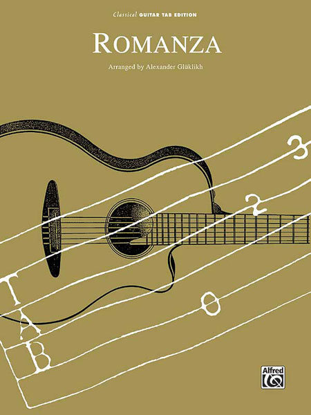 View larger image of Romanza - (Classical Guitar TAB Sheet)