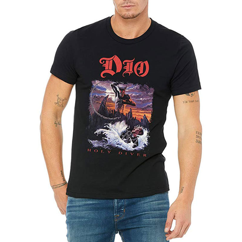 View larger image of Ronnie James Dio Holy Diver T-Shirt - Men's Large