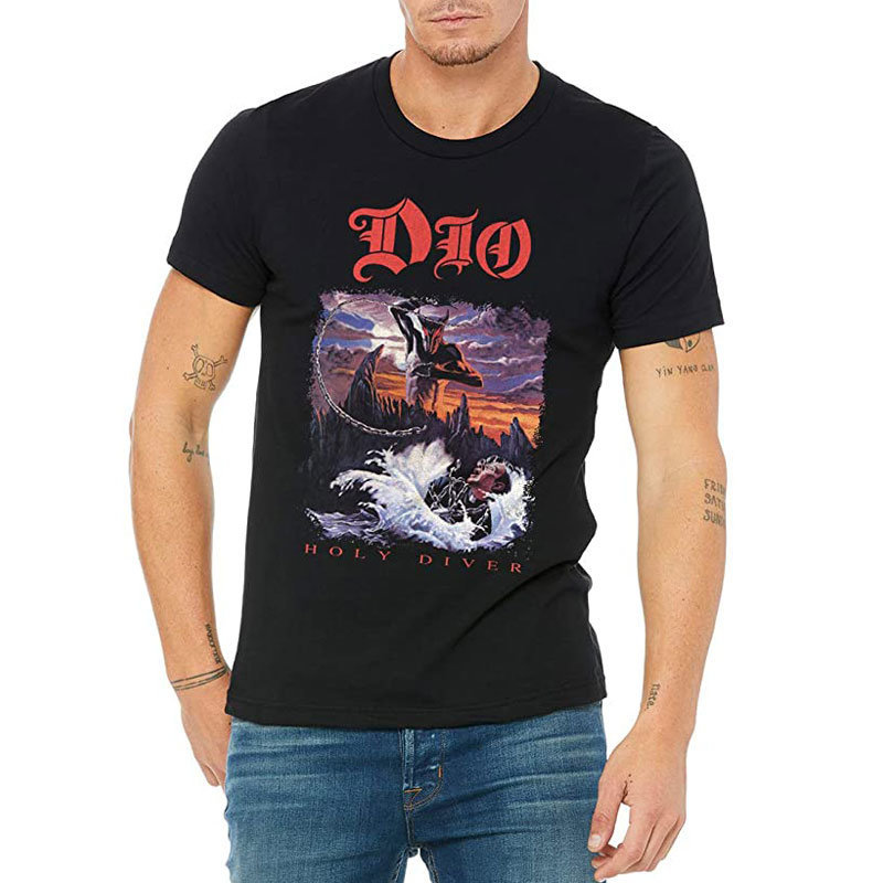 View larger image of Ronnie James Dio Holy Diver T-Shirt - Men's Medium
