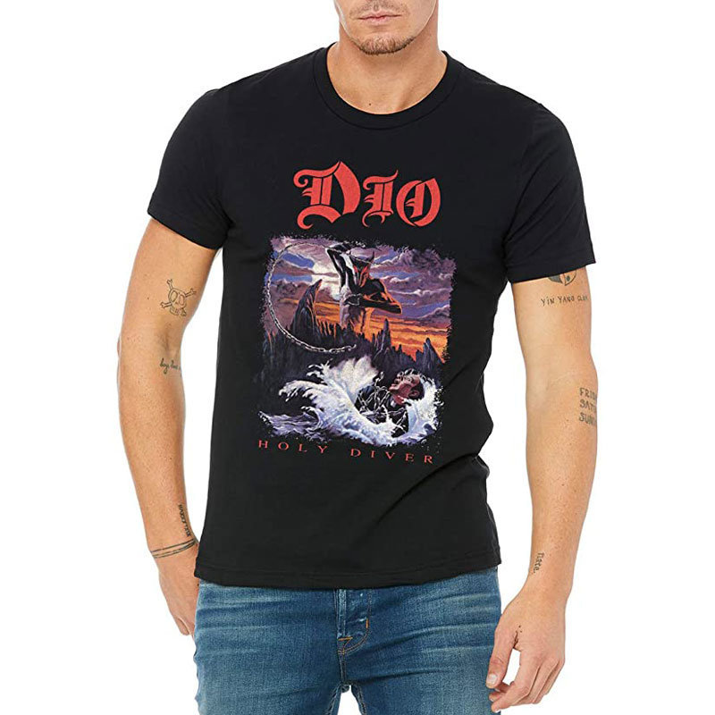 View larger image of Ronnie James Dio Holy Diver T-Shirt - Men's Small