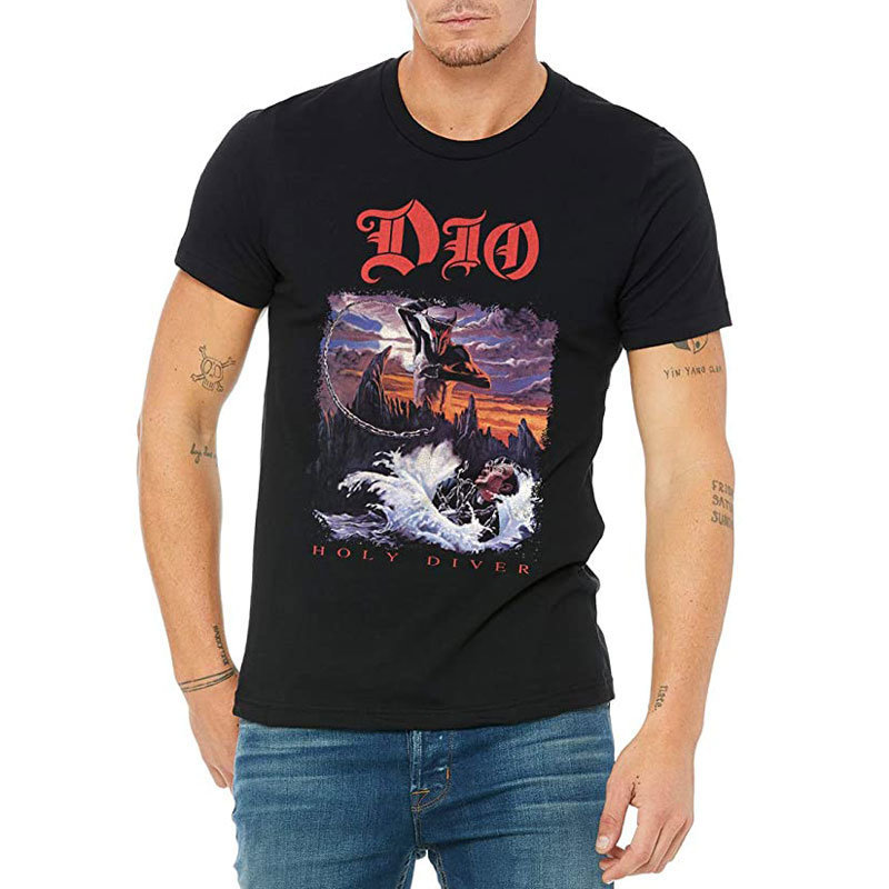 View larger image of Ronnie James Dio Holy Diver T-Shirt - Men's XL