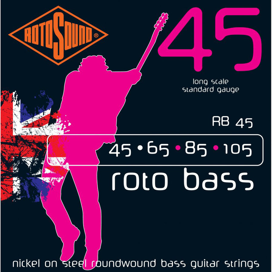 View larger image of Rotosound Roto Bass Strings - 45-105