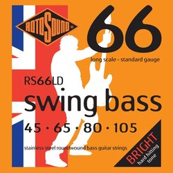 Rotosound Swing Bass 66 Bass Strings - 45-105