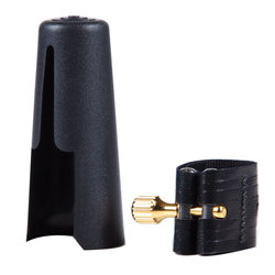 Rovner 1RVS Ligature for Soprano Saxophone - Dark