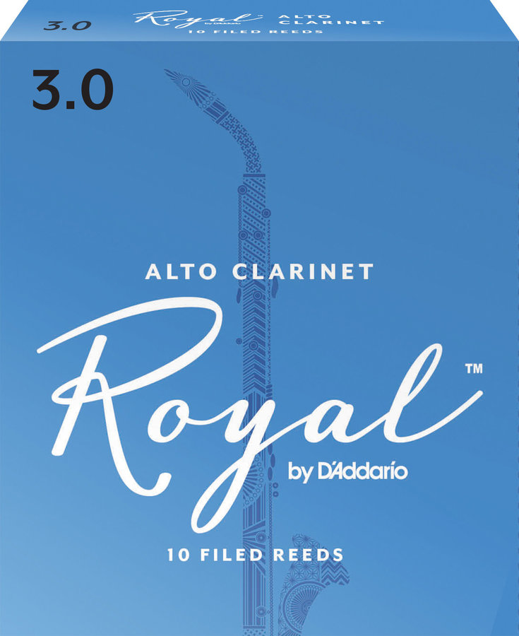 View larger image of Royal Alto Clarinet Reeds - #3, 10 Box