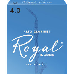 Royal Alto Clarinet Reeds - #4, 10 Box