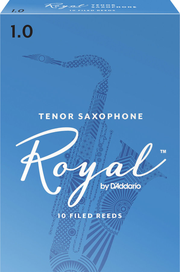 View larger image of Royal Tenor Saxophone Reeds - #1, 10 Box