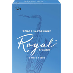 Royal Tenor Saxophone Reeds - #1.5, 10 Box