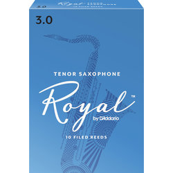Royal Tenor Saxophone Reeds - #3, 10 Box