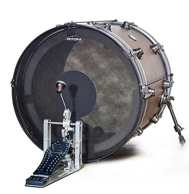 View larger image of RTOM Black Hole Low Volume Drum Head for 13 Tom