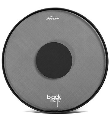 View larger image of RTOM Black Hole Low Volume Drum Head for 22 Bass