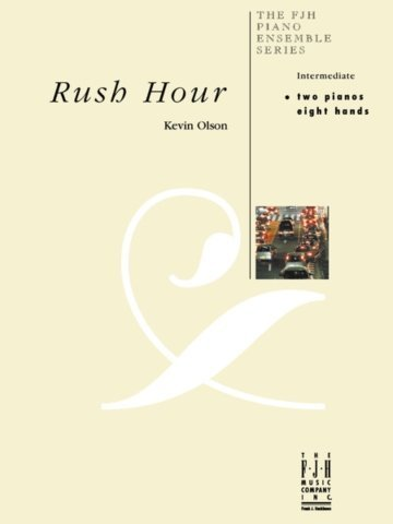 View larger image of Rush Hour - Piano Duet (2P8H)