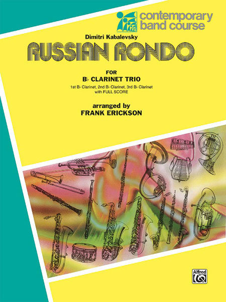 View larger image of Russian Rondo - Clarinet Trio