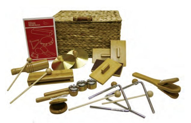 View larger image of Rythm Band BK10 BamBoom Deluxe Percussion Kit - 10 Pieces