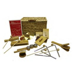 Rythm Band BK10 BamBoom Deluxe Percussion Kit - 10 Pieces