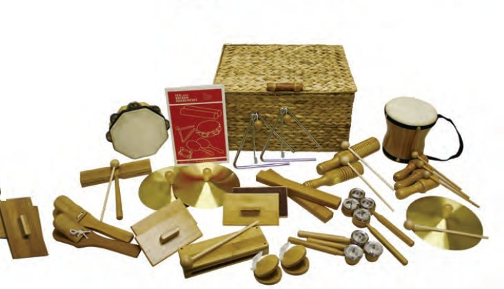 View larger image of Rythm Band BK25 BamBoom Deluxe Percussion Kit - 25 Pieces