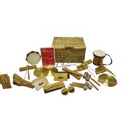 Rythm Band BK25 BamBoom Deluxe Percussion Kit - 25 Pieces
