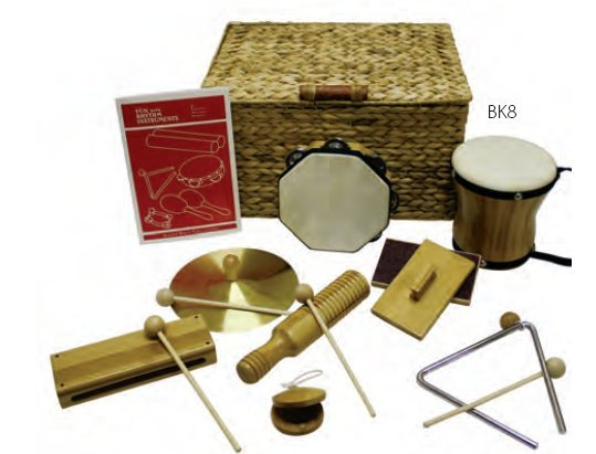 View larger image of Rythm Band BK8 BamBoom Deluxe Percussion Kit - 8 Pieces