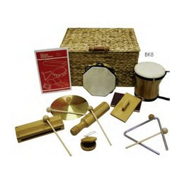 Rythm Band BK8 BamBoom Deluxe Percussion Kit - 8 Pieces