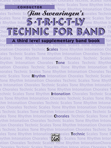 View larger image of S*T*R*I*C*T-LY Technic for Band - Conductor