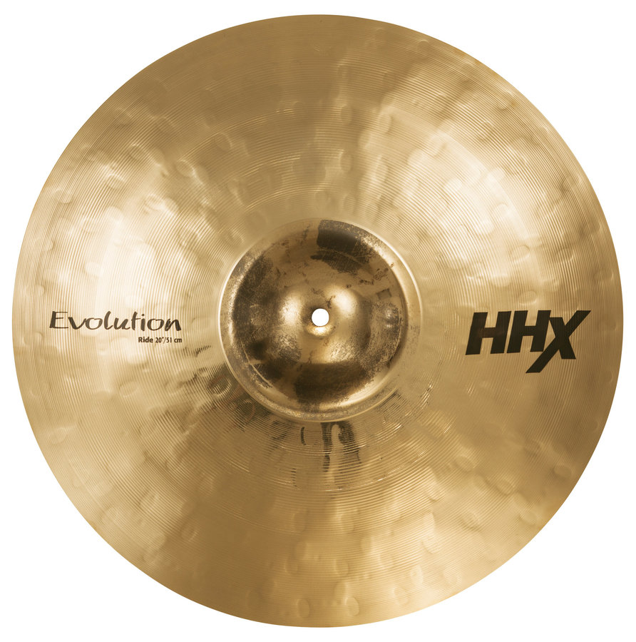 View larger image of Sabian 12112XEB HHX Evolution Ride Cymbal - Brilliant, 21