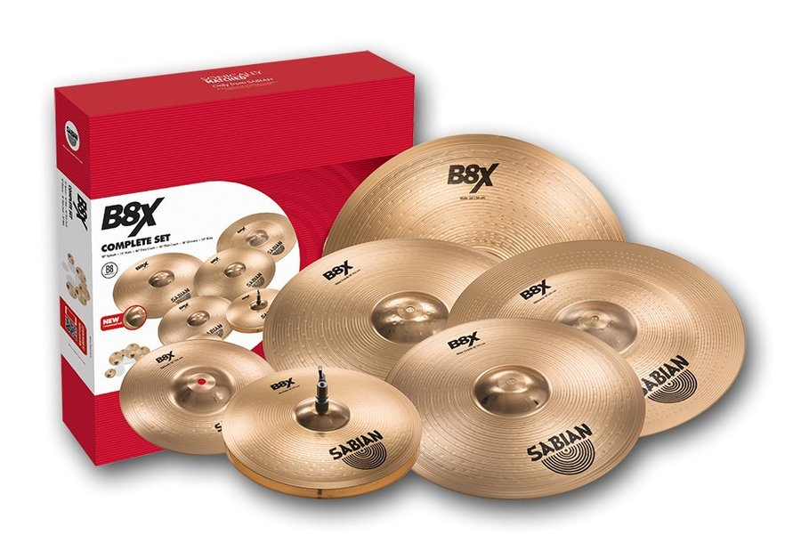 View larger image of Sabian 45006X B8X Complete Cymbal Set