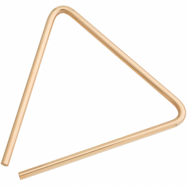 View larger image of Sabian 61134-10B8 10 B8 Bronze Triangle