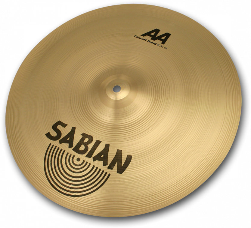 View larger image of Sabian AA Concert Band Cymbal - 16, Brilliant