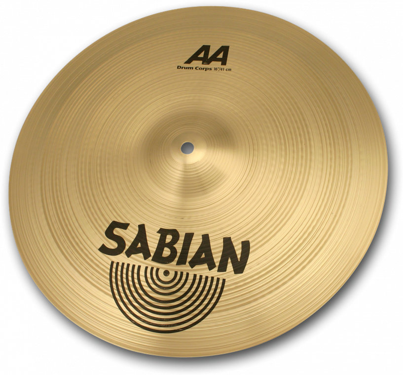 View larger image of Sabian AA Drum Corps Cymbal - 18, Brilliant